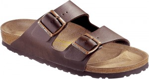 Klapki Arizona Birkenstock dark brown
